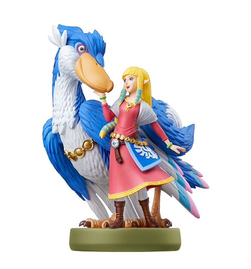 Zelda & Loftwing - Skyward Sword